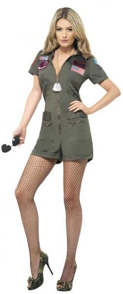 Sexy Flieger Kostüm für Damen