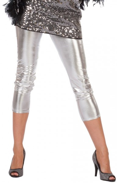 Disco Leggings Silber