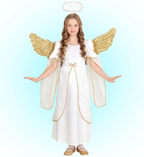 Goldener Engel Emilia Mädchenkostüm
