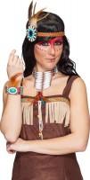 Indianer Squaw Schmuck Set