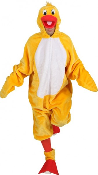 Pluszowy kostium kaczki z ocieplaczami