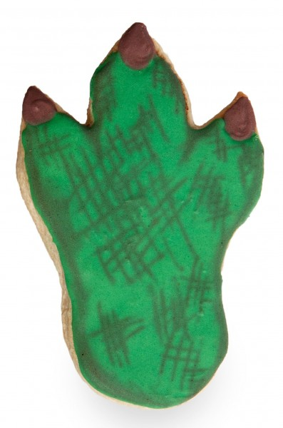 Dino footprint cookie cutter 10.2cm