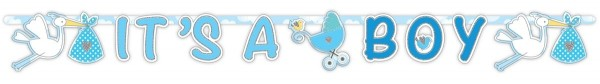 It´s a Boy Babyparty Girlande 1,7m