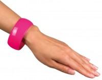 Bracelets rétro néon rose
