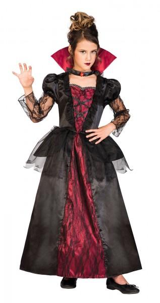 Seducente costume da vampiro per bambina