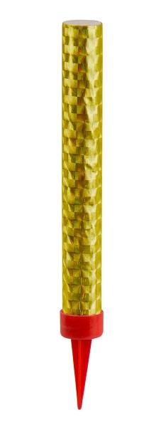 3 Tischfontänen in Gold 12cm