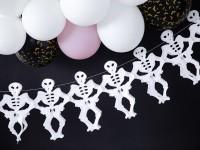 Boo Town Skelett Girlande 3m