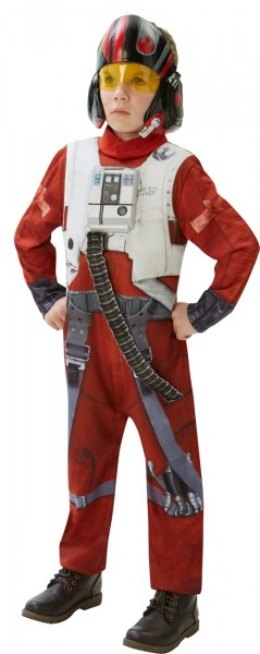 Star Wars Episode VII X-Wing Fighter Poe Jungenkostüm