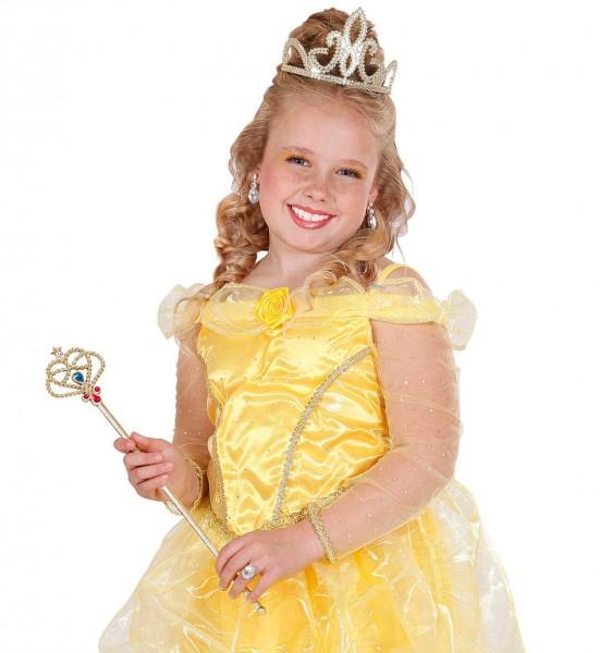 Buntes Prinzessin Zepter Gold