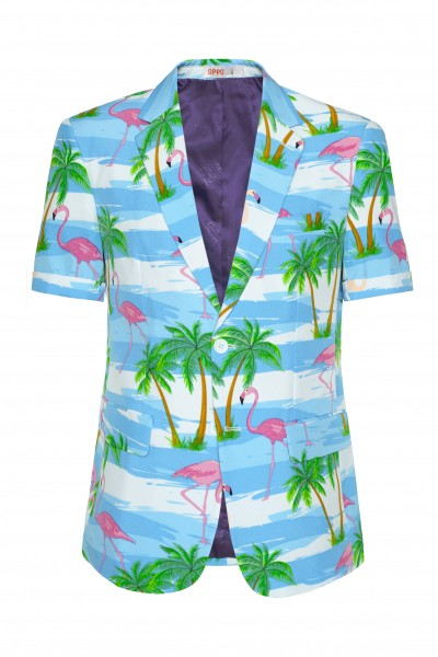 OppoSuits summer suit Flaminguy