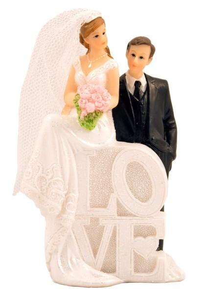 Postać ślubna kochająca para