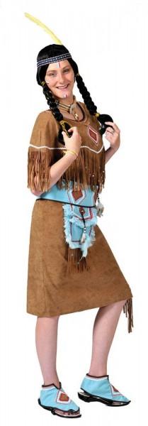 Indianerin Anuk Damenkostüm
