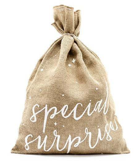 Sac de jute Special Surprise 40 x 55 cm