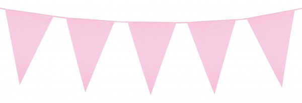 Rosa Party Girlande 10m 1