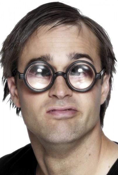 Lunettes à monture de corne de nerd épaisses