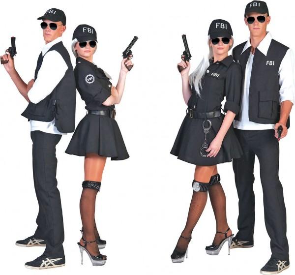 Agent Hastings FBI Damenkostüm
