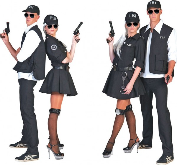 Kostium agenta Hastings FBI dla kobiet