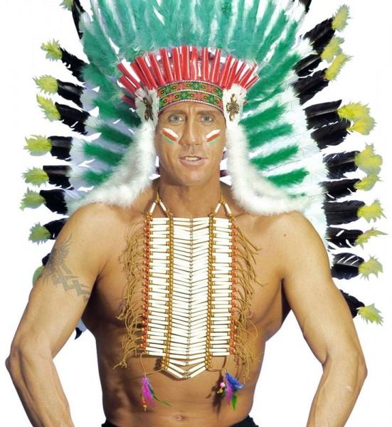 Indianer Häuptling Brustschmuck