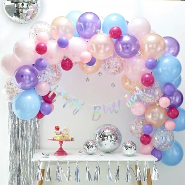 Zestaw girland z balonów Candy Land