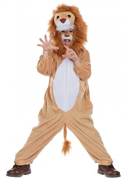 Wilder Löwenoverall für Kinder