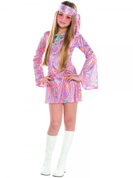 70's Disco Princess Jane Costume Girls