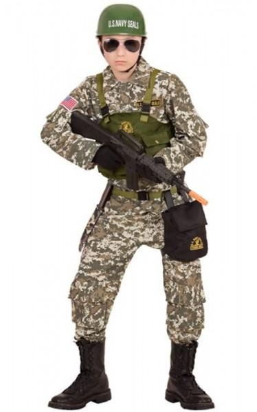 Army Soldat Kinderkostüm