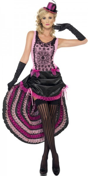 Burlesque Tänzerin Miri Damenkostüm