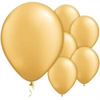 25 Goldene Luftballons Passion 28cm