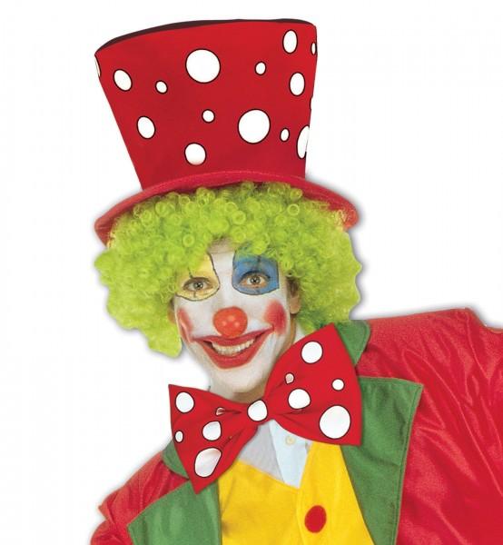 Noeud papillon clown Taches de rousseur XXL