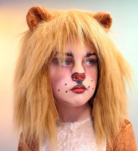 Kinder Löwenmähne Mit Ohren