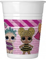 6 LOL Glam Girls Becher 200ml