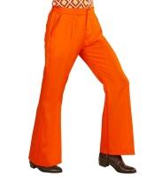 Orange Herren Schlaghose