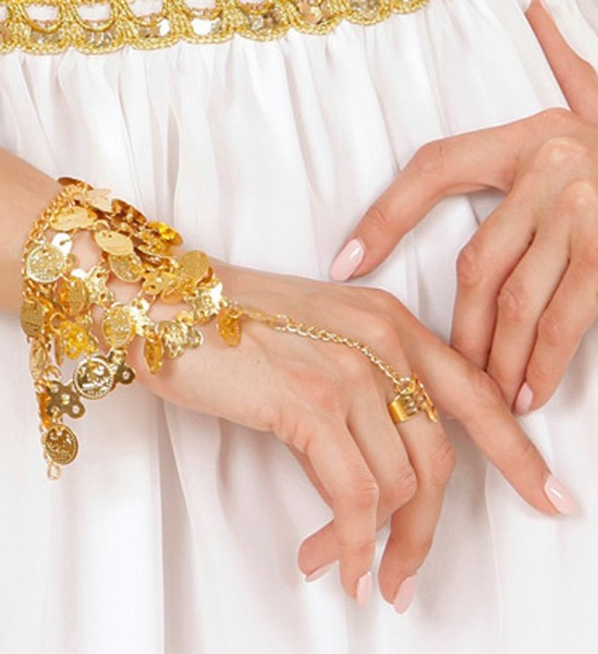 Oosterse hand sieraden goud