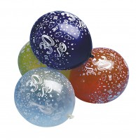 5 bunte 30.Geburtstag Luftballons 30cm