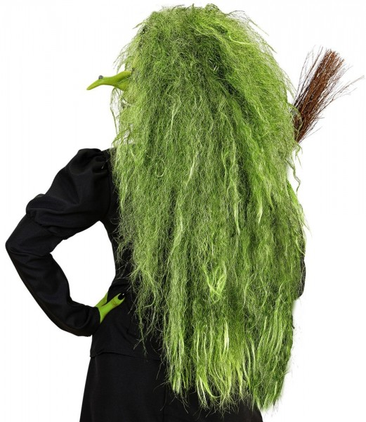 Scary witch wig for women