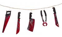 Folterkammer Werkzeug Girlande 1,8m