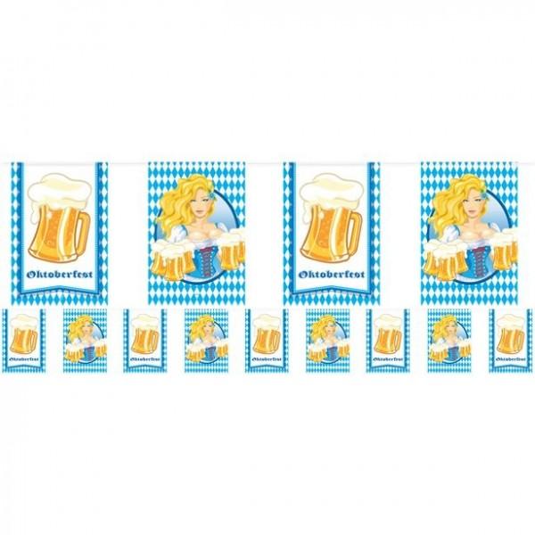 Oktoberfest Girlande Bier Liesl 10m