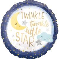 Twinkle Little Star Folienballon 45cm