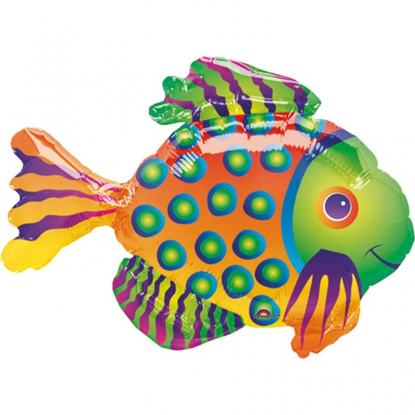 Little fish Ferdinand foil balloon