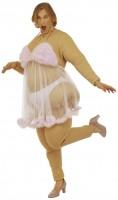Dicke Stripperin Fatsuit Kostüm
