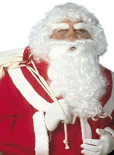 Weihnachtsmannkostüm Perücken-Set
