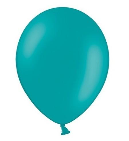 10 Luftballons Türkis 27cm 1