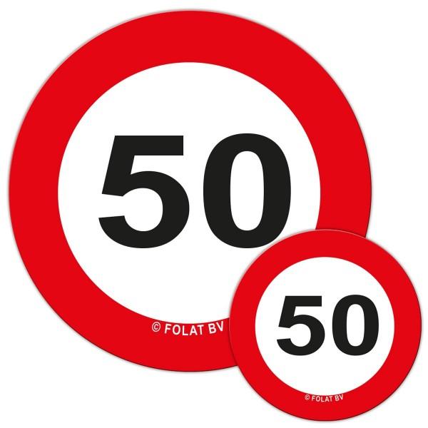 Señal de tráfico 50 Streudeko
