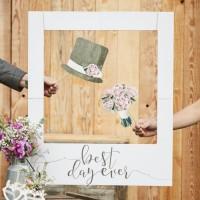 Landliebe Hochzeit Fotorahmen 82cm