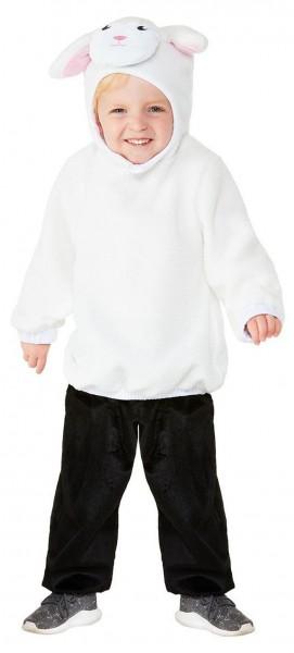 Niedliches Schaf Kostüm für Kinder