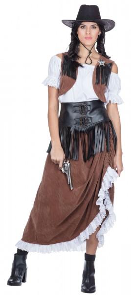 Wild West Lady Damenkostüm