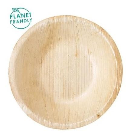 6 Palmblatt Schüsseln Caldara 13cm