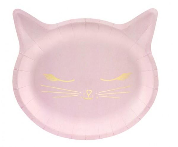 6 Kiki cat paper plates 22 x 20cm