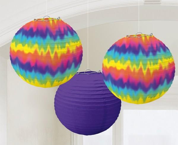 60s hippie lantern Groovey 24cm