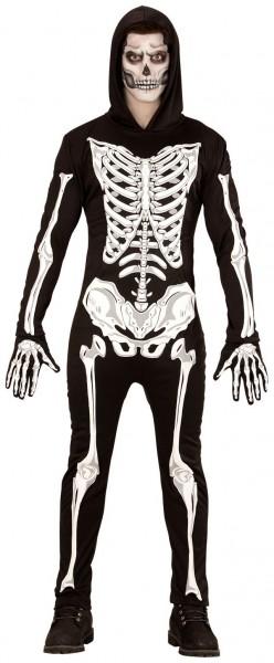 Lichtgevend skelet Martin kostuum